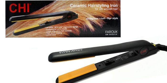 Chi will be effortless and also instant CHI Guitar Blue Flat Iron