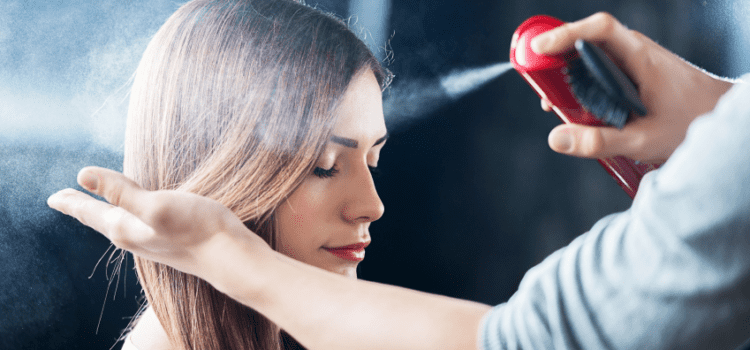 Why is the hairspray harmful?
